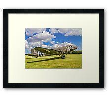 Douglas C-47A Skytrain 42-100882/3X-P Framed Print