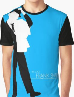 The Voice: Frank Sinatra Graphic T-Shirt