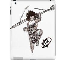Phthalo lunge iPad Case/Skin
