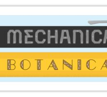 Mechanical & Botanical Sticker