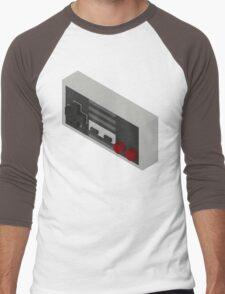 NES Controller - Isometric Men's Baseball ¾ T-Shirt