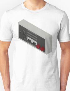 NES Controller - Isometric T-Shirt