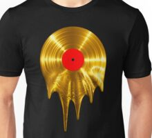 Melting vinyl GOLD Unisex T-Shirt