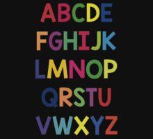 Alphabet fun Kids Tee