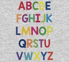 Alphabet fun One Piece - Short Sleeve