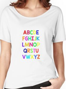 Alphabet fun Women's Relaxed Fit T-Shirt