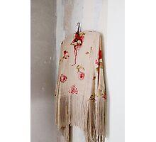 Vintage shawl Photographic Print