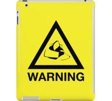 Fox Warning iPad Case/Skin