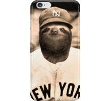 Baseball Sloth iPhone Case/Skin