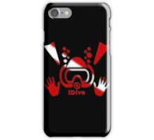 iDive Original Dive Flag 2016 iPhone Case/Skin