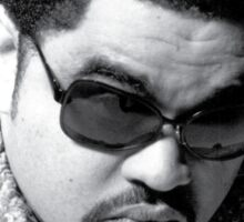 Heavy D up in the limousine Sticker