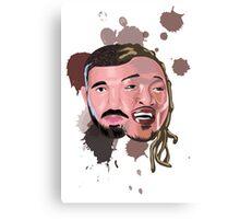 Drake and Future Face Mashup Canvas Print