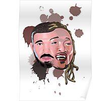 Drake and Future Face Mashup Poster