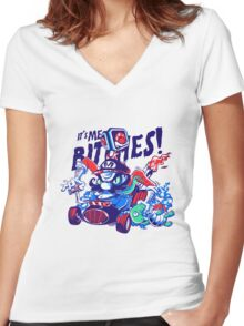 It's Me Bitches Women's Fitted V-Neck T-Shirt
