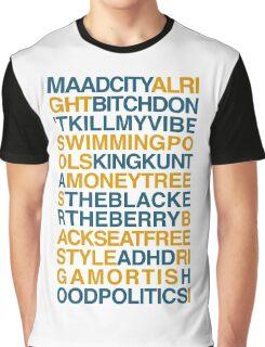 Kendrick Lamar Songs Graphic T-Shirt