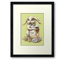 Honey Bunny  (two color) Framed Print