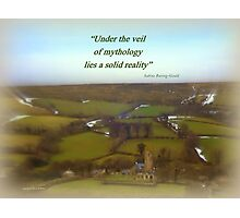 Widecombe-on-the-Moor Photographic Print