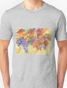 Fall Grape Harvest Unisex T-Shirt