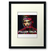 ZAYN MALIK PILLOW TALK Framed Print
