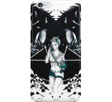 Rockabilly Gothic Pentagram iPhone Case/Skin