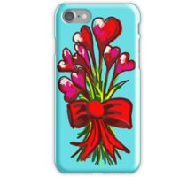 Love You Flowers iPhone Case/Skin