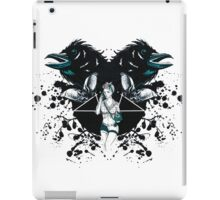 Rockabilly Gothic Pentagram iPad Case/Skin