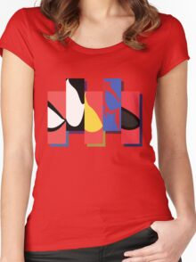 All in the Spider Eye Women's Fitted Scoop T-Shirt