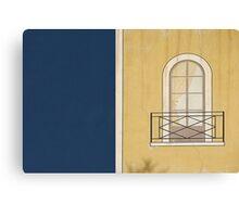 Window wall. Canvas Print