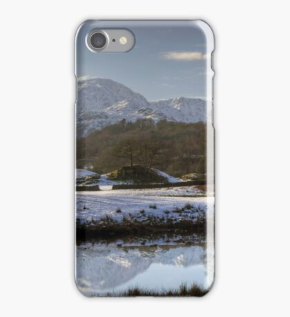 The Mountain Across The River iPhone Case/Skin