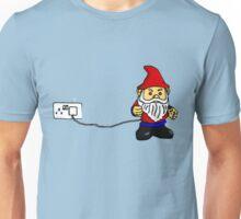 Plug In Gnome  Unisex T-Shirt