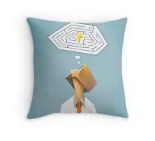 """Solution"" Tomek Biniek Throw Pillow"