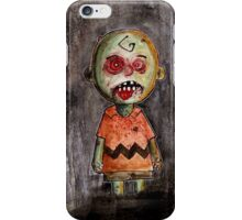 you're a zombie Charlie Brown iPhone Case/Skin