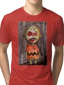 you're a zombie Charlie Brown Tri-blend T-Shirt