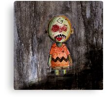 you're a zombie Charlie Brown Canvas Print