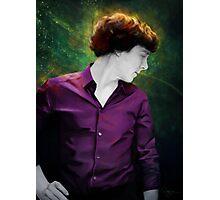 Purple shirt Photographic Print