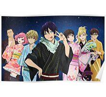 Noragami Yukata Poster Poster