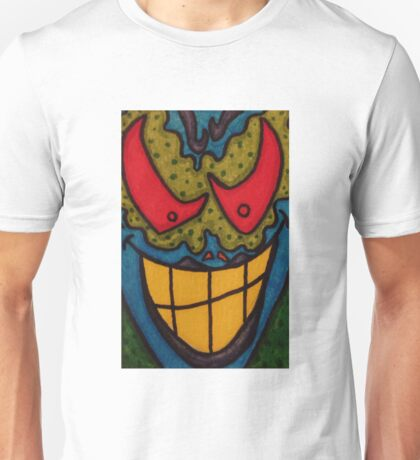 He Only Looks Crazy Unisex T-Shirt