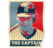 Derek Jeter The Captain OB Poster