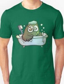 owl having a bath Unisex T-Shirt