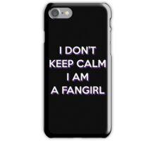 I DON'T KEEP CALM iPhone Case/Skin