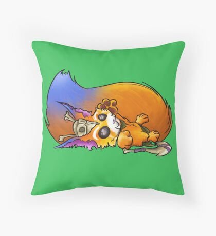 Gnar Throw Pillow