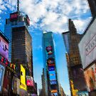 Times Square by Dave Hare