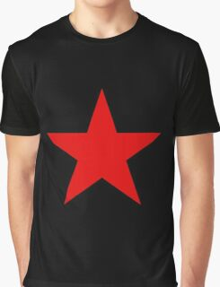 Soviet Air Forces-Red Star Graphic T-Shirt