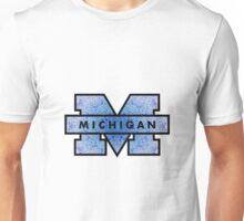 Blue U of M Unisex T-Shirt