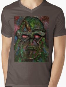 Swamp Monster Original Mens V-Neck T-Shirt