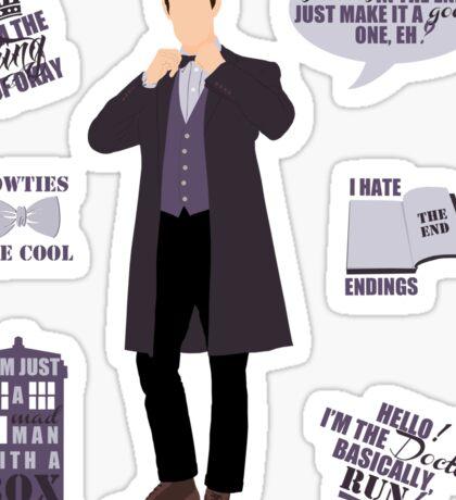 11 Doctor  Sticker