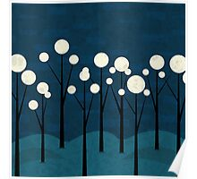 Moon Forest Poster