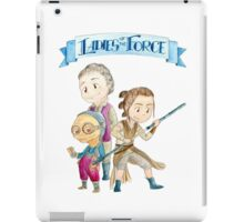 Ladies of the Force iPad Case/Skin
