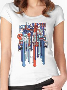 melting faces UK Women's Fitted Scoop T-Shirt