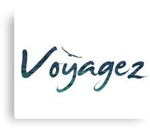 Travel / Voyagez Canvas Print